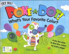Poke-A-Dot! Book- What's Your Favorite Color?