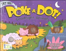 Poke-A-Dot! Book- Goodnight, Animals
