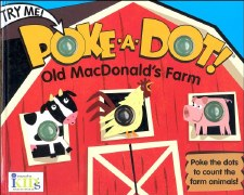 Poke-A-Dot! Book- Old MacDonald's Farm