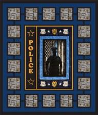 Police Quilt Kit