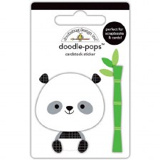 At The Zoo Stickers- Doodle Pops- Polly Panda