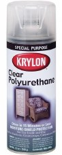 Clear Polyurethane Spray, 11oz- Satin Finish