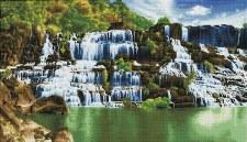 Diamond Facet Art Kit- Pongour Waterfall