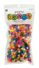 Nicole Pony Beads, 750ct- Opaque Assortment
