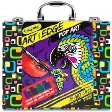 Crayola Art Edge Art Case- Pop Art, Tropical