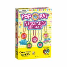 Creativity for Kids Craft Kit- Pop Art Necklaces & More