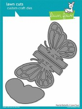 Lawn Fawn Craft Dies- Butterfly, Pop-Up