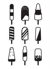 Darice Embossing Folder- Popsicles