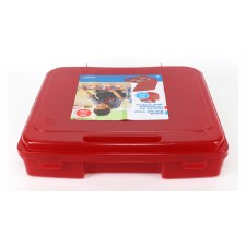 """11x13"""" Portable Project Case- Red"""