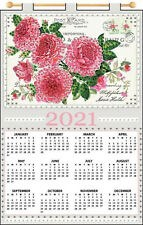 Jeweled 2021 Calendar - Postcard