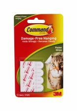Command Poster Strips, 12pk