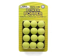 Hog Wild Power Popper Refill Balls- Green