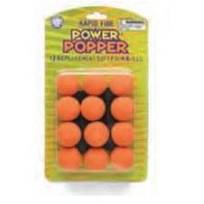 Hog Wild Power Popper Refill Balls- Orange