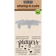 Hero Arts Stamp & Cut Set- Prayers