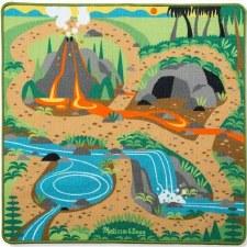 Melissa & Doug Activity Rug- Prehistoric Playground