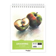 "Premiere 9x12"" Drawing Paper Pad, 60 Sheets"