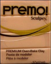 Sculpey Premo Polymer Clay - Beige 2oz