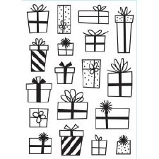 Darice Embossing Folder- Celebrations- Presents