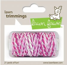 Lawn Fawn Trimmings Cord- Pretty In Pink