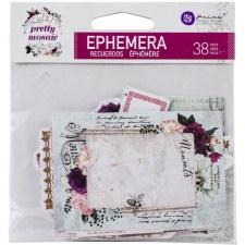 Pretty Mosiac Ephemera Die Cuts