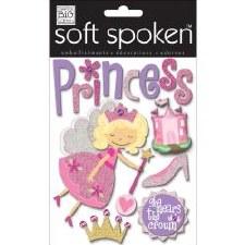 MAMBI Soft Spoken Stickers- Kids- Princess