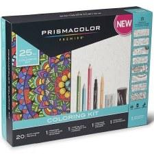 Prismacolor Coloring Kit, 25pc