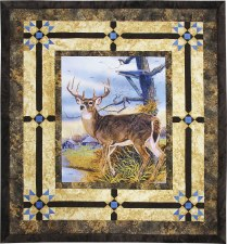 Trophy Buck Quilt Kit