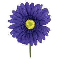 "18"" Gerbera Daisy Stem- Purple"