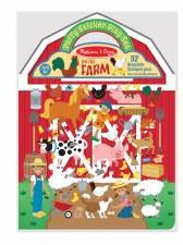 Melissa & Doug Reusable Puffy Sticker Kit- Farm