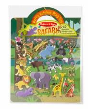 Melissa & Doug Reusable Puffy Sticker Kit- Safari