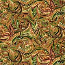 Pumpkin Harvest Bolted Fabric- Marble