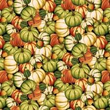 Pumpkin Harvest Bolted Fabric- Pumpkin Toss