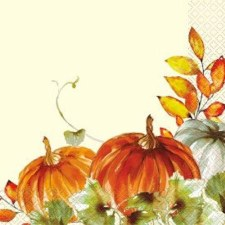 Watercolor Fall 16ct. Luncheon Napkins