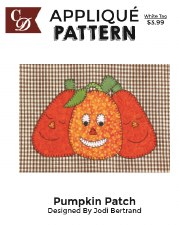 Applique Pattern- Pumpkin Patch