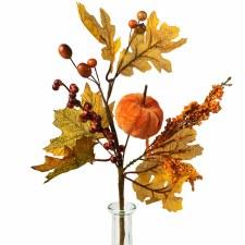 """Pumpkin Fall Pick, 14"""""""