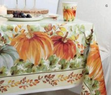 Watercolor Fall Table Cover