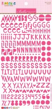 Florence Alphabet Stickers- Punch