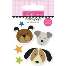 Cooper Bella-Pops Stickers- Pups