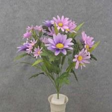 """Daisy Mixed Bush, 18.5""""- Purple"""