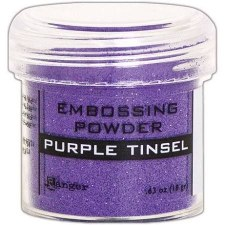 Embossing Powder- Tinsel, Purple