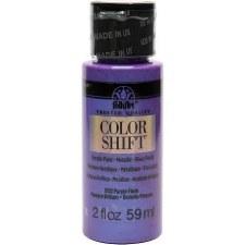 FolkArt Color Shift Metallic Acrylic Paint, 2oz- Purple Flash