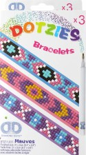 Dotzies Bracelets- Shades of Purple