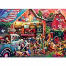 Antique Barn - 1,000 Piece Puzzle