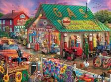 Antique Market - 1,000 Piece Puzzle