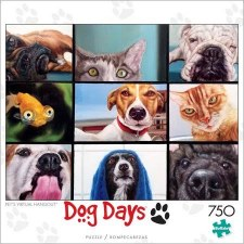 Pets Virtual Hangout - 750 Piece Puzzle