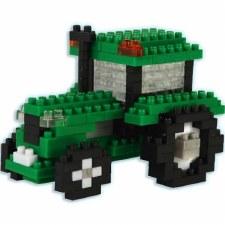 Bepuzzled Pixel Puzzle- Tractor