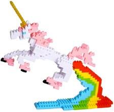 Bepuzzled Pixel Puzzle- Unicorn