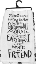 Dish Towel- Questionable Morals