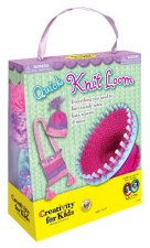 Creativity for Kids Craft Kit- Quick Knit Loom
