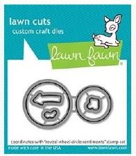 Lawn Fawn Reveal Wheel Circle Sentiments Die Set